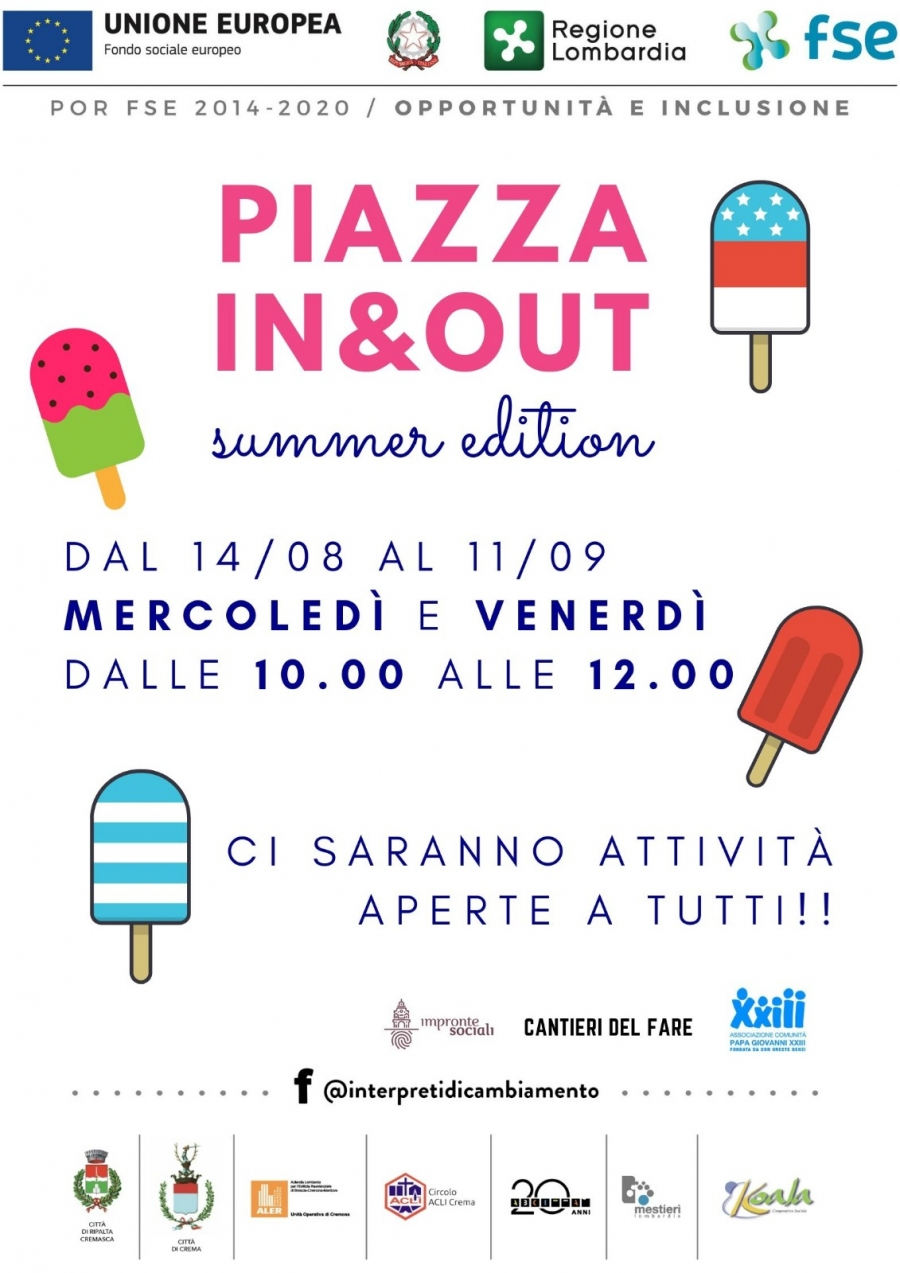 Piazza In&out summer edition