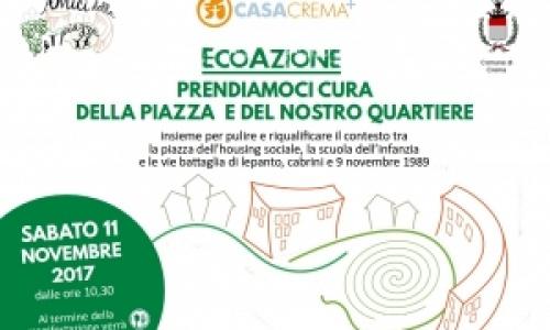 EcoAzioni per prendersi cura del quartiere all'housing