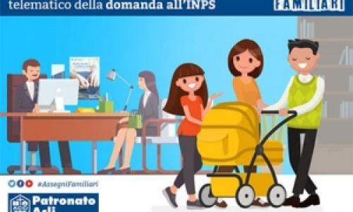 Assegno al Nucleo Familiare: domanda solo online
