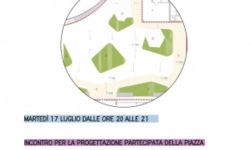 Presentazione del progetto per la piazza dell'housing sociale