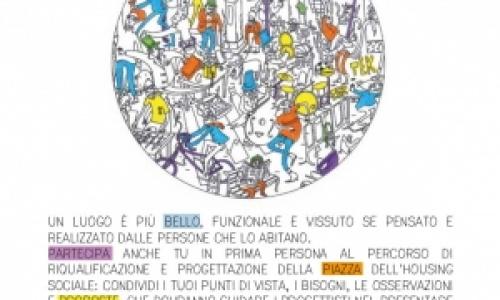 Progettazione partecipata piazza di CasaCrema+
