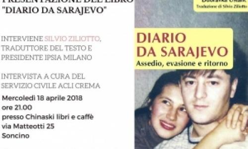 Diario da Sarajevo, presentazione del libro a Soncino